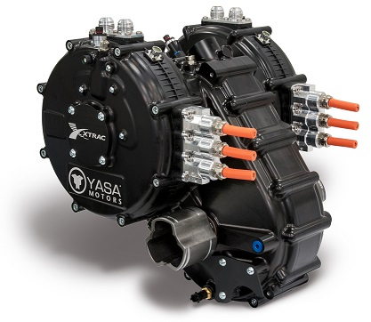 P400 series with lightweight gearbox yasa limited for Electric motor with gearbox