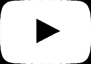YouTube Logo White